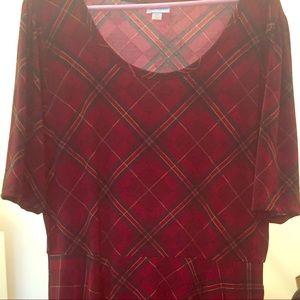 LuLaRoe Nicole dress with pockets